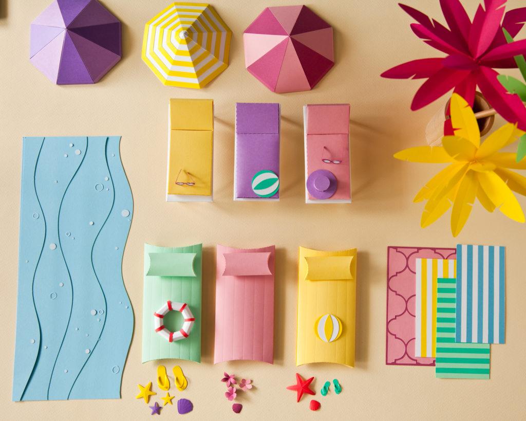 papierowy set design